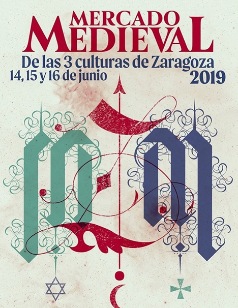 mercado-medieval-zaragoza-cartel